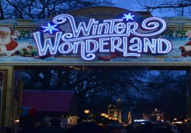 London Winter Wonderland: Santa Claus Is Coming To Town