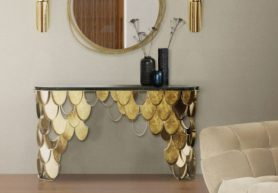 Top Luxury Console Tables For a Bold Entryway
