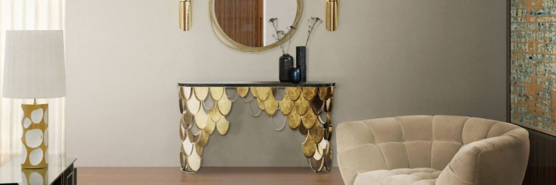 Top Luxury Console Tables For a Bold Entryway luxury console tables Top Luxury Console Tables For a Bold Entryway featured 33
