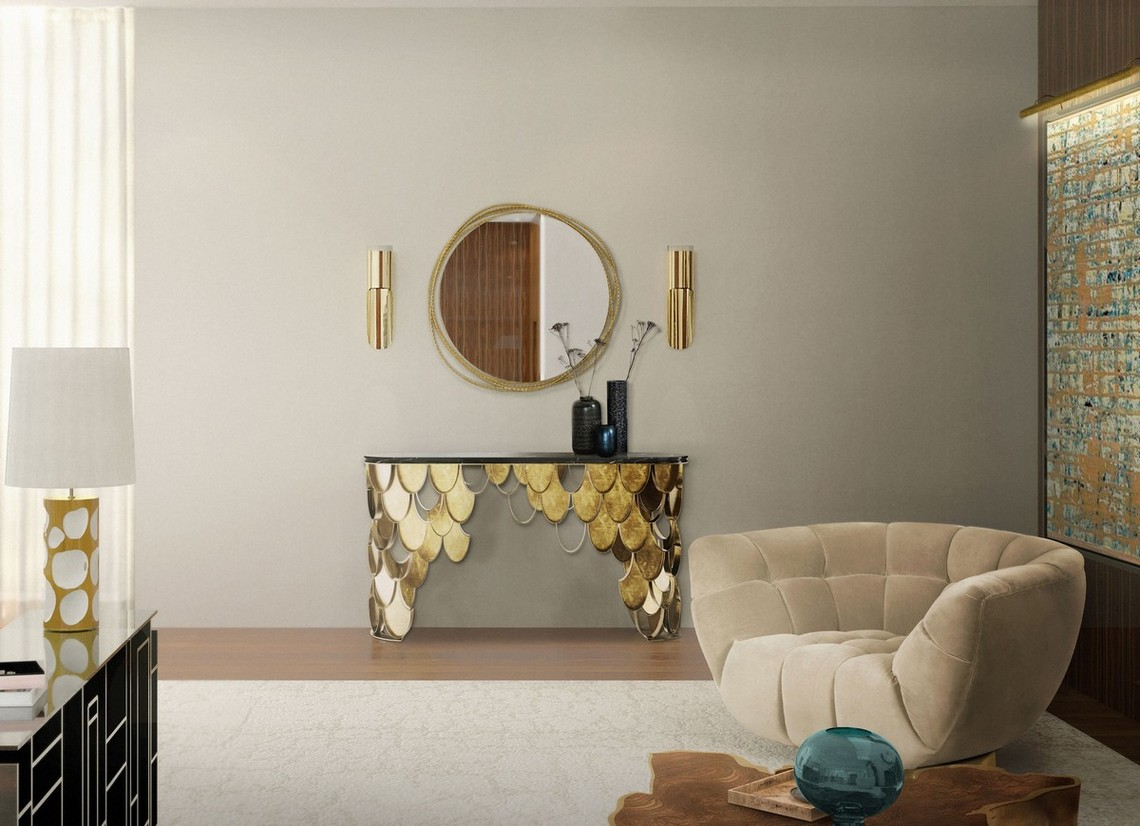 Top Luxury Console Tables For a Bold Entryway luxury console tables Top Luxury Console Tables For a Bold Entryway koi