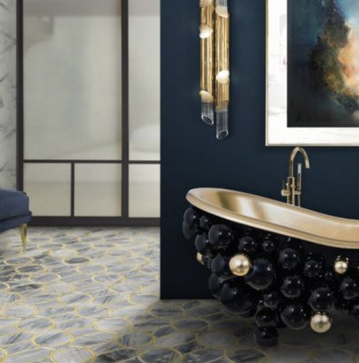 Bold statement art is invading luxurious bathrooms in 2019 f luxurious bathroom Bold Statement Art is Invading Luxurious Bathrooms in 2019 Bold statement art is invading luxurious bathrooms in 2019 f 405x410
