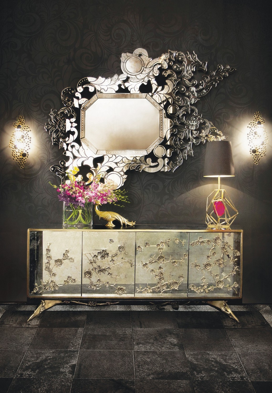 Modern Mirrors To Match Your Sideboard modern mirrors Modern Mirrors To Match Your Sideboard (Part II) addicta