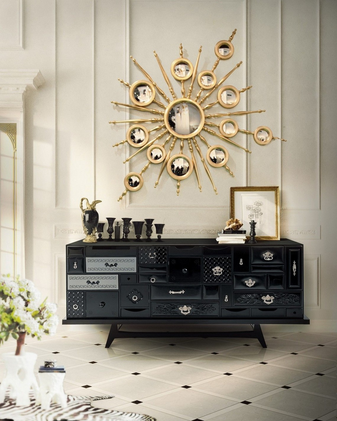 Modern Mirrors To Match Your Sideboard (Part II)