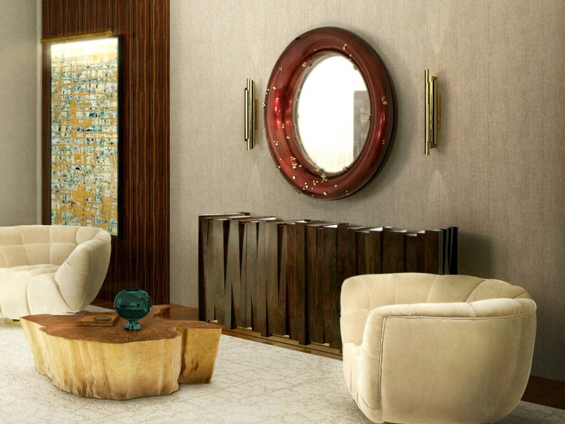 Modern Mirrors To Match Your Living Room Sideboard modern mirrors Modern Mirrors To Match Your Sideboard belize