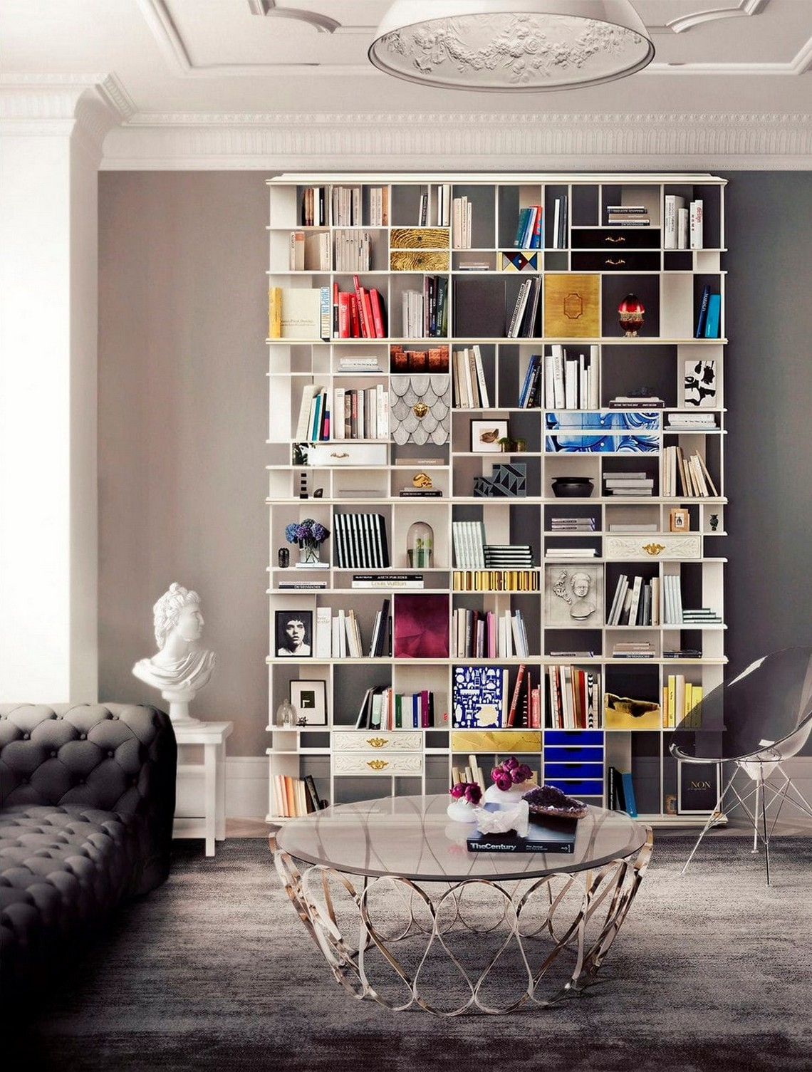 Amazing Contemporary Bookcases For Modern Ambiances contemporary bookcases Amazing Contemporary Bookcases For Modern Ambiances colecionista