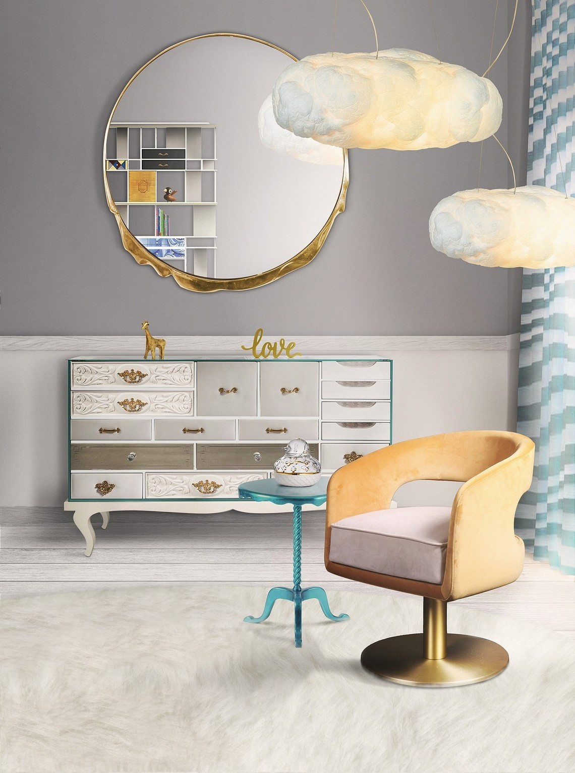 Modern Mirrors To Match Your Living Room Sideboard modern mirrors Modern Mirrors To Match Your Sideboard magma
