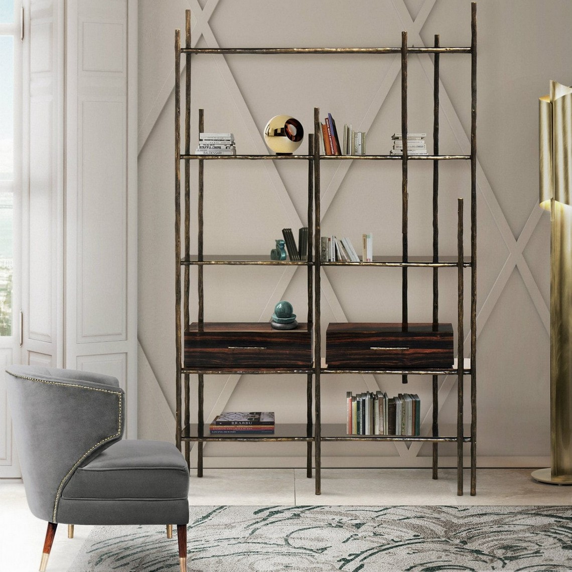 Amazing Contemporary Bookcases For Modern Ambiances contemporary bookcases Amazing Contemporary Bookcases For Modern Ambiances mambu