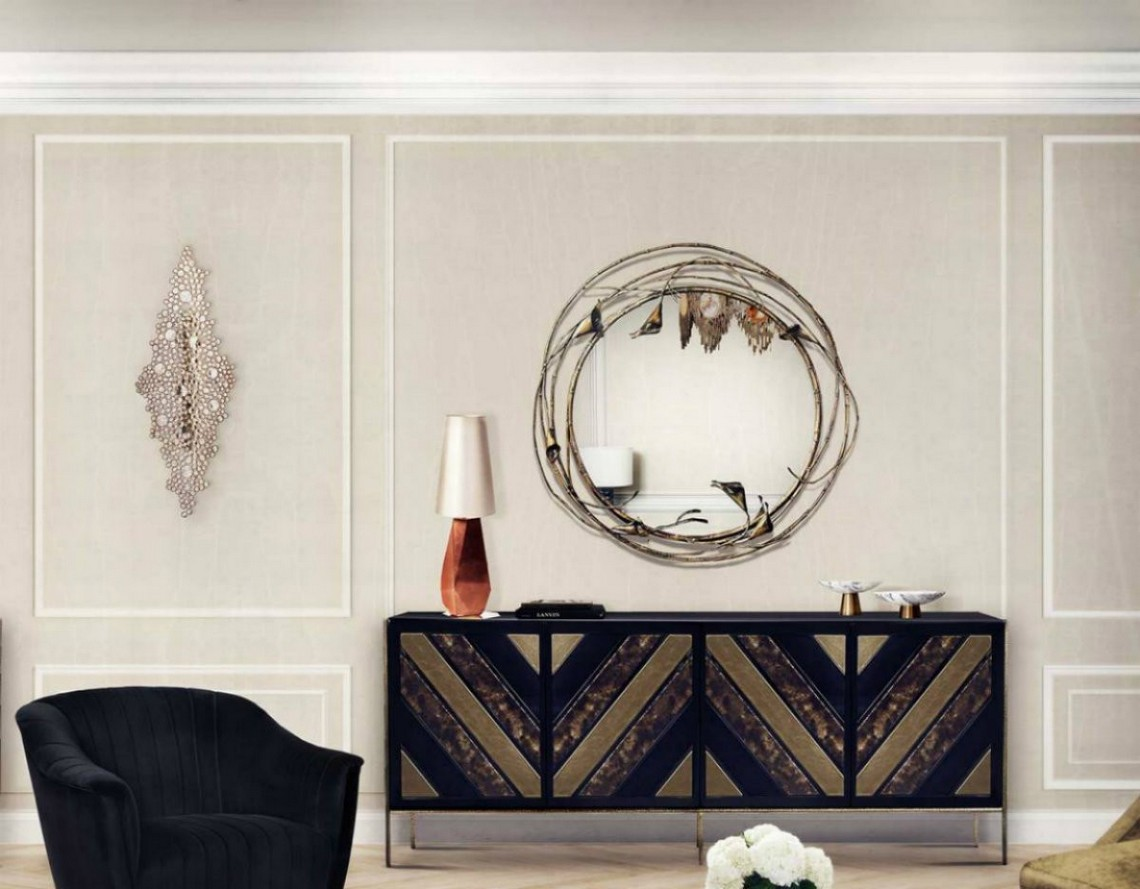 Modern Mirrors To Match Your Sideboard modern mirrors Modern Mirrors To Match Your Sideboard stella