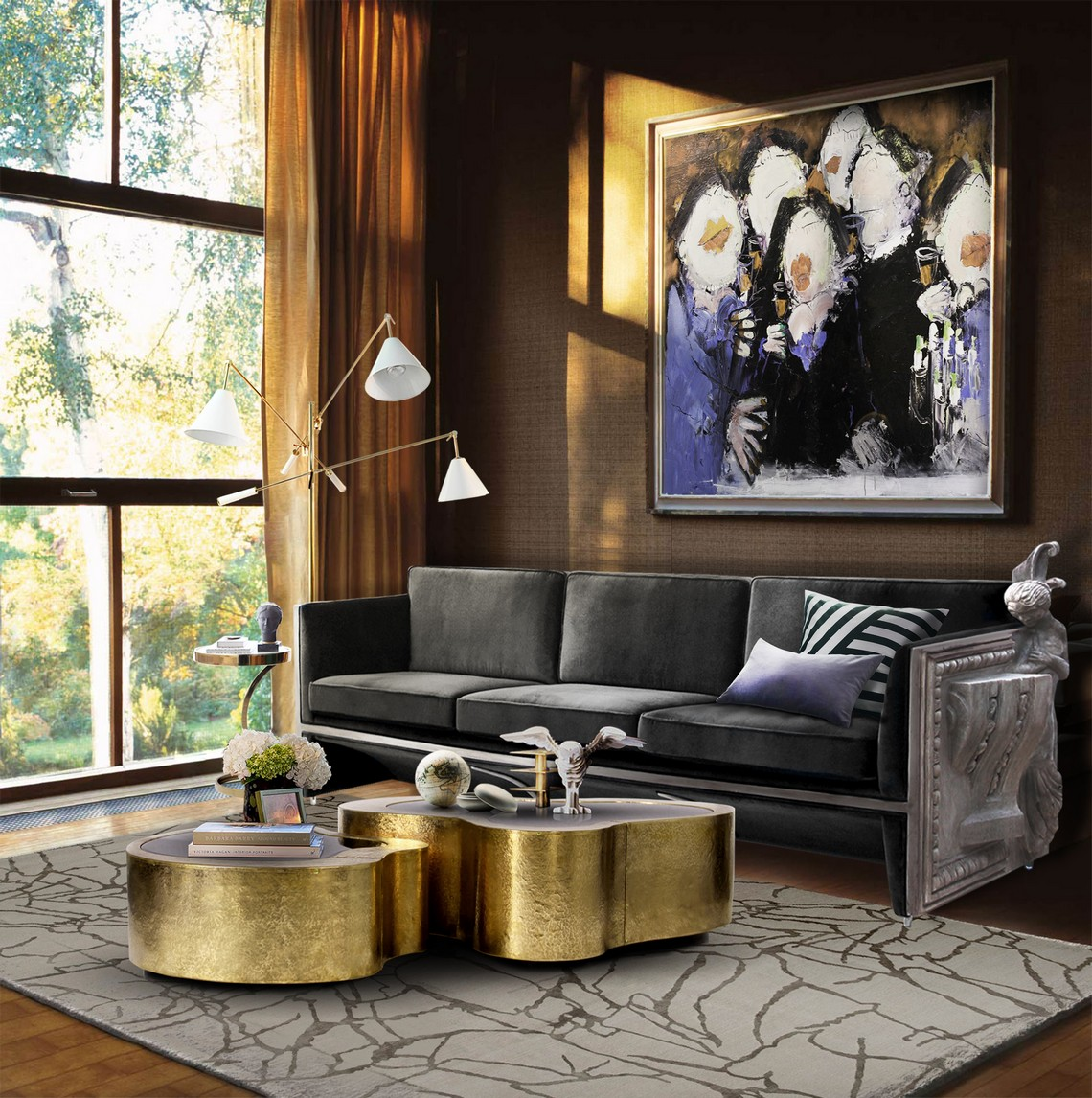 Top Artistic Sofas For Your Living Room artistic sofas Top Artistic Sofas For Your Living Room versailles cover