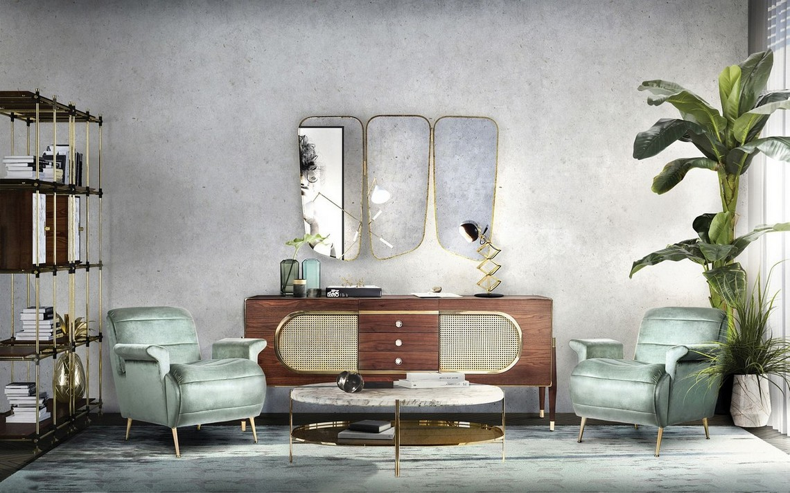 Modern Mirrors To Match Your Sideboard (Part II) modern mirrors Modern Mirrors To Match Your Sideboard (Part II) wilde