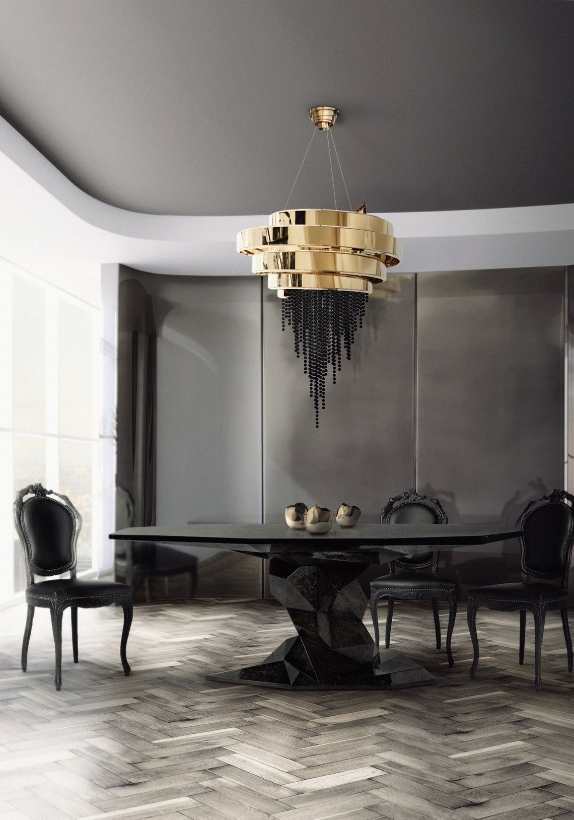 Curated Design: Contemporary Dining Room Ambiances
