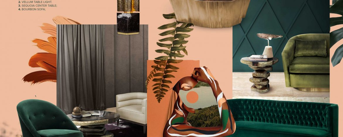 Renew Your Home Décor With The Earth Tones Trend moodboard earth tones Renew Your Home Décor With The Earth Tones Trend moodboard collection earth tones interior decor trend for 2019 14 1170x470