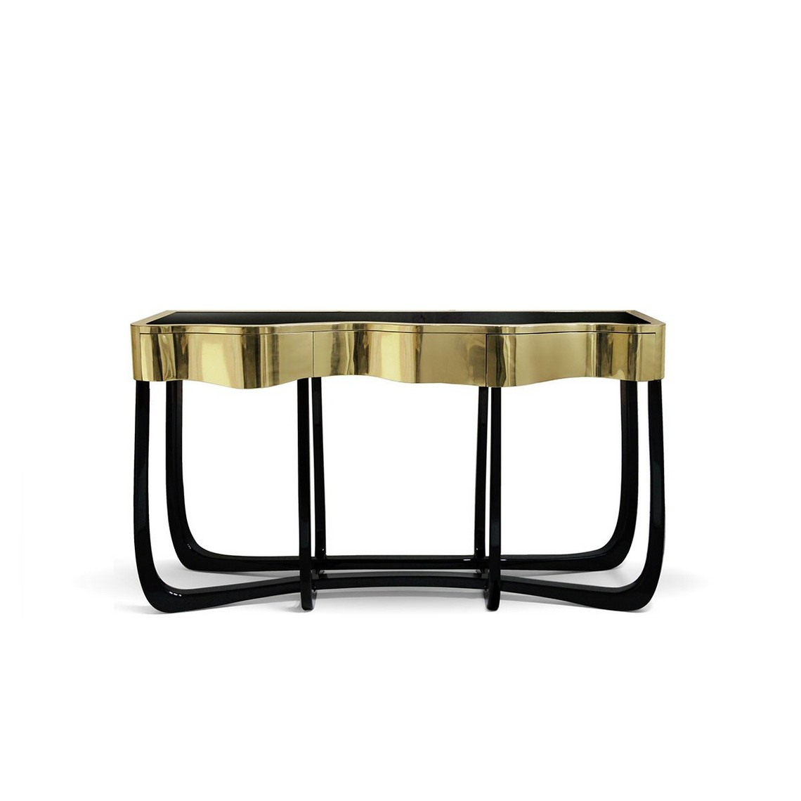Trendy Console Tables For 2019 trendy console tables Trendy Console Tables sinuous 1