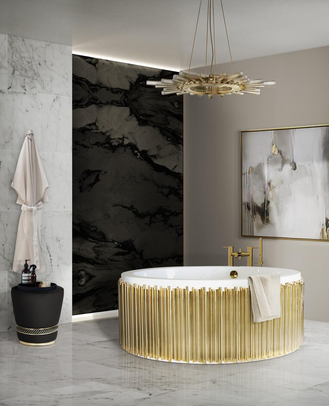 Top 5 Modern Bathtubs by Maison Valentina modern bathtubs Top 5 Modern Bathtubs by Maison Valentina 27 symphony bathtub black paramount surface HR